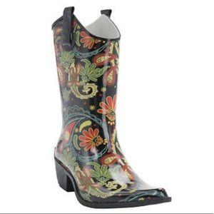Corkys Shoes - Corkys Rainboots Western Cowboy Style